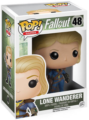 Funko Pop! Games Lone Wanderer Stock Thumb