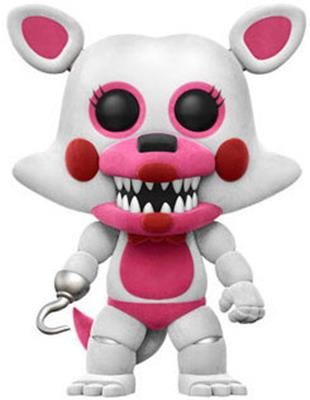 Funko Pop! Games Foxy (Funtime) - Flocked