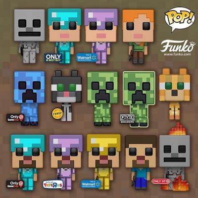 Funko Pop! Games Creeper (Charged)