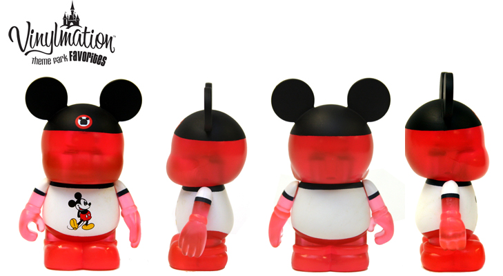 Vinylmation Open And Misc Theme Park Favorites Red Shirt