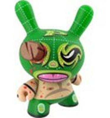 Kid Robot Blind Boxes Azteca Series 1 Luchador Stock