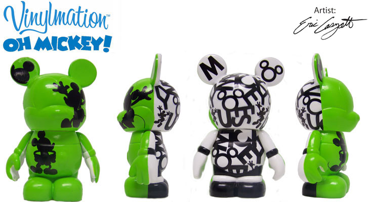 Vinylmation Open And Misc Oh Mickey! Green