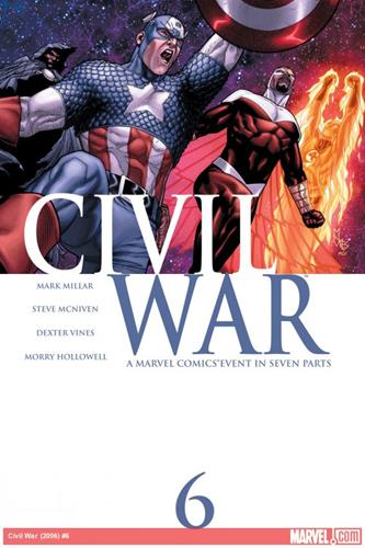 Marvel Comics Civil War (2006 - 2007) Civil War (2006) #6