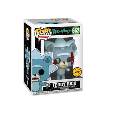 Funko Pop! Animation Teddy Rick (Chase) Stock