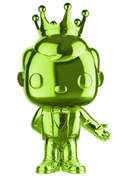 Funko Pop! Freddy Funko Tuxedo Freddy (Chrome-Light Green)