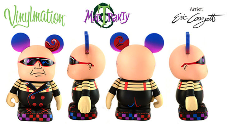 Vinylmation Open And Misc Mad T Party Tweedle Dum