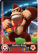 Amiibo Cards Mario Sports Superstars Donkey Kong - Soccer