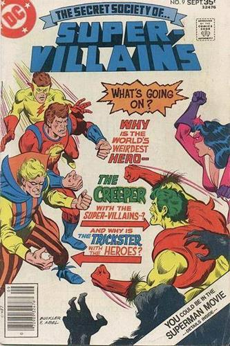 DC Comics Secret Society of Super-Villains (1976 - 1978) Secret Society of Super-Villains (1976) #9 Stock