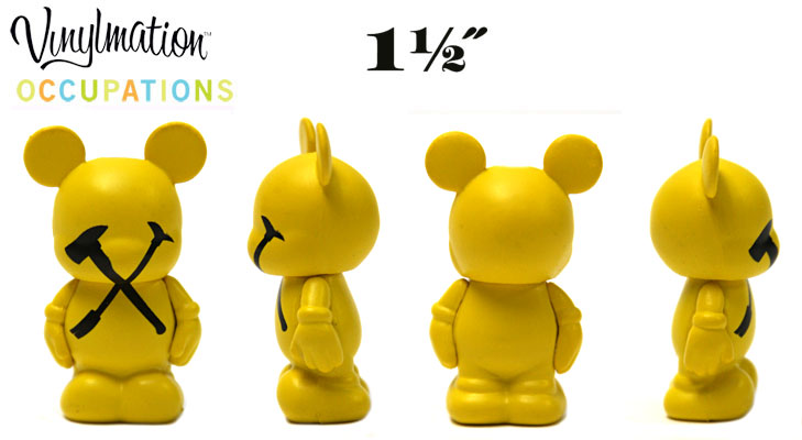 Vinylmation Open And Misc Occupations Jr. Pick and Ax