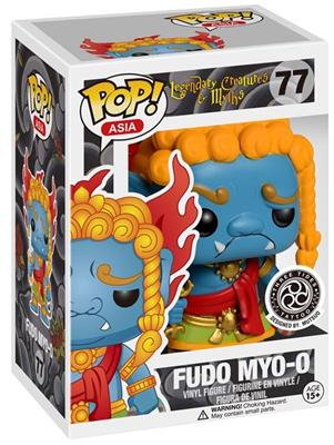 Funko Pop! Asia Fudo Myo-o Stock