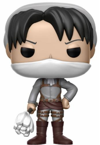 Funko Pop! Animation Levi Ackerman (Cleaning)