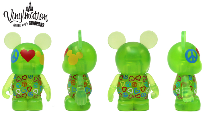 Vinylmation Open And Misc Theme Park Favorites Peace Love Mickey