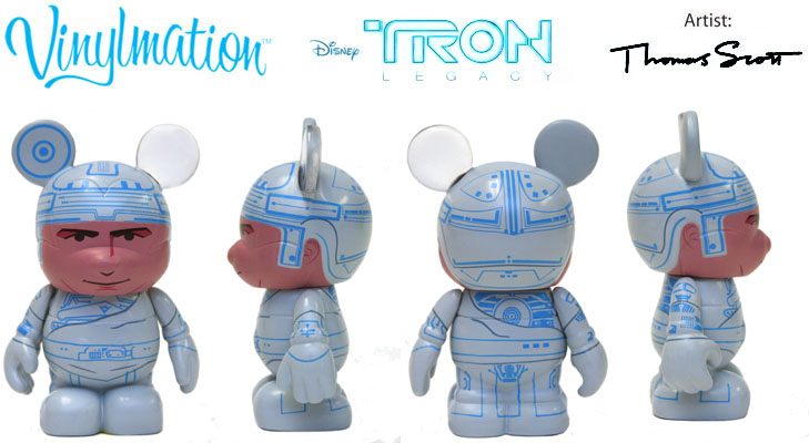 Vinylmation Open And Misc Tron Young Kevin Flynn