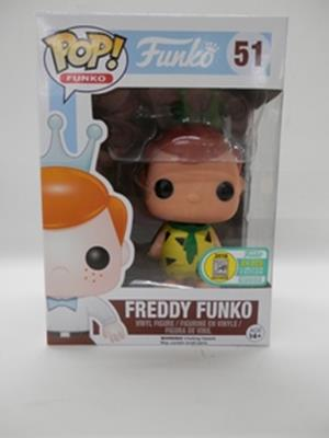 Funko Pop! Freddy Funko Fred Flintstone (Yellow) Stock