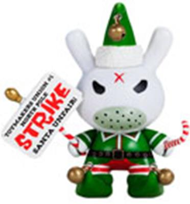Kid Robot Special Edition Dunny Grumpy Elf Stock