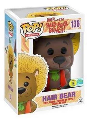Funko Pop! Animation Hair Bear (Brown) Stock