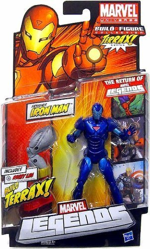 Marvel Legends Terrax Series Iron Man (Blue Variant)
