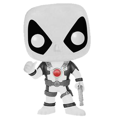 Funko Pop! Marvel Deadpool (Thumbs Up) - White