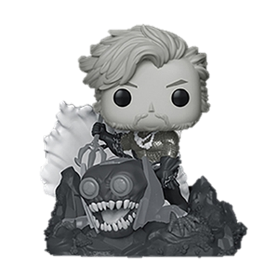 Funko Pop! Heroes Aquaman DELUXE Black & White