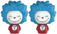 Dorbz Dr. Seuss Thing 1 & Thing 2