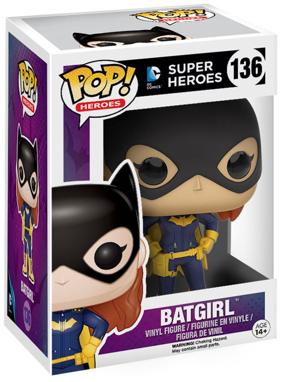 Funko Pop! Heroes Batgirl (Burnside) Stock