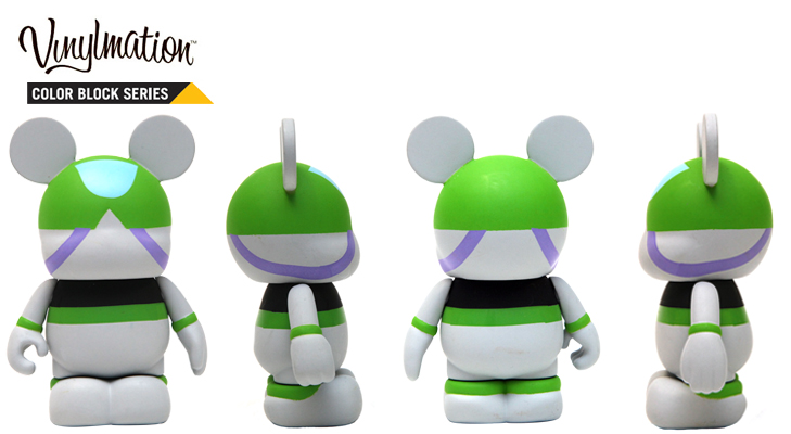 Vinylmation Open And Misc Color Block Buzz Lightyear