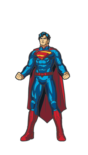 FiGPin DC Comics: Justice League Superman