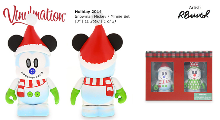 Vinylmation Open And Misc Holiday Mickey