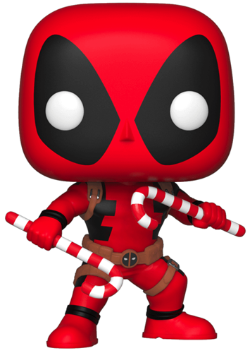 Funko Pop! Marvel Deadpool (w/ Candy Canes)