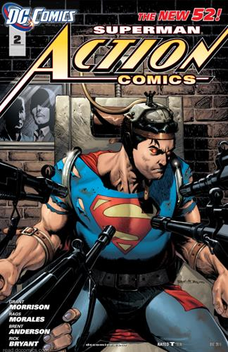 DC Comics Action Comics (2011 - 2016) Action Comics (2011) #2E Icon Thumb