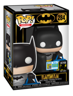 Funko Pop! Heroes Batman with SDCC Bag Stock