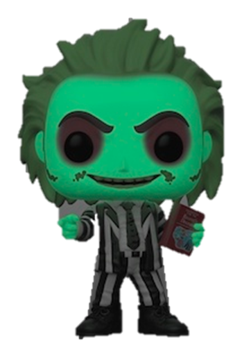 Funko Pop! Movies Beetlejuice (Glow in the Dark) Icon