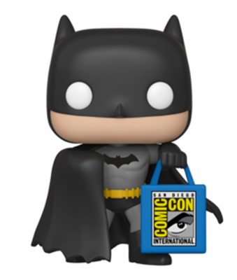 Funko Pop! Heroes Batman with SDCC Bag