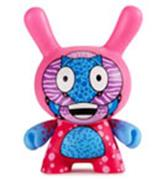 "Kid Robot 5"" Dunnys Codename Unknown (Pink)"