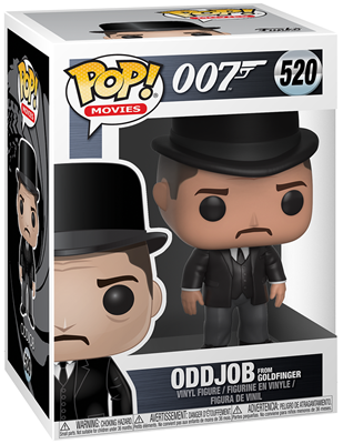 Funko Pop! Movies Oddjob Stock
