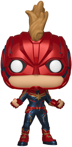 Funko Pop! Marvel Captain Marvel (Chase)