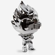 Funko Pop! Animation Vegeta (Chrome)