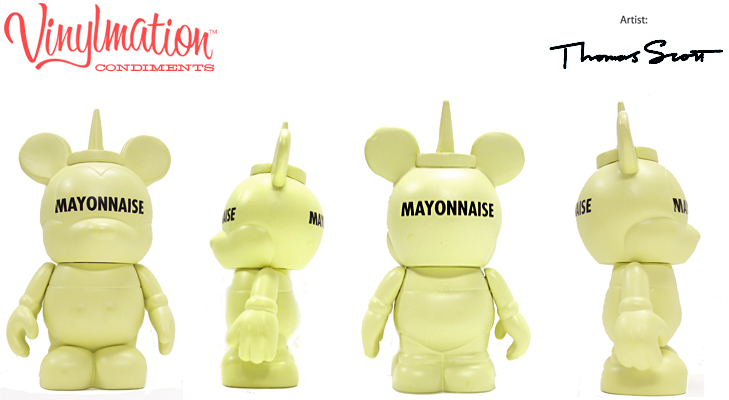 Vinylmation Open And Misc Condiments Mayonnaise