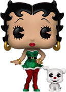 Funko Pop! Animation Betty Boop & Pudgy (Elves)