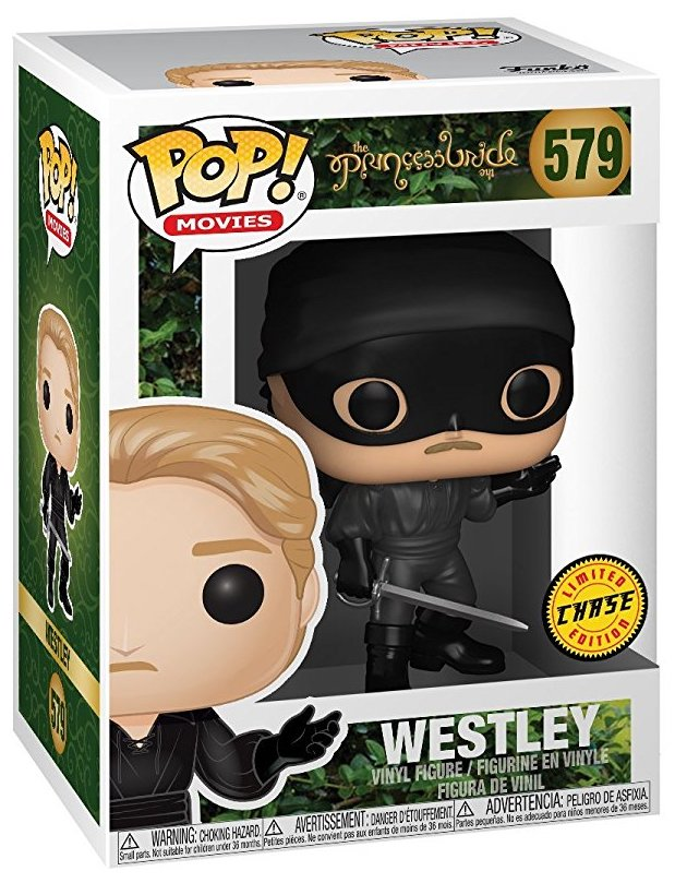 Funko Pop! Movies Westley (Dread Pirate Roberts) - CHASE Stock