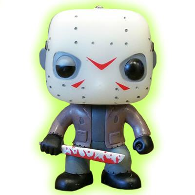 Funko Pop! Movies Jason Voorhees (GITD CHASE) Icon