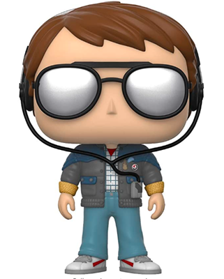 Funko Pop! Movies Marty with Glasses Icon