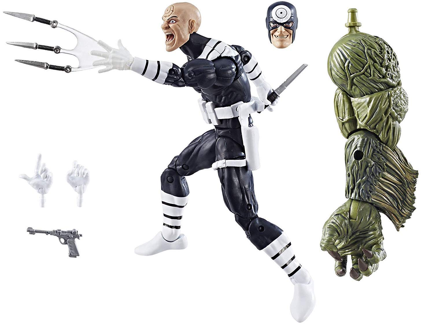 Marvel Legends Man-Thing Series Bullseye Stock