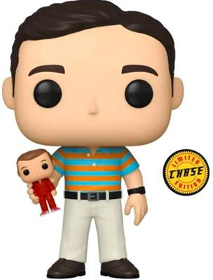 Funko Pop! Movies Andy Holding Oscar (Chase) Icon