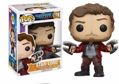 Funko Pop! Marvel Star-Lord (Vol. 2) Stock