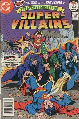 DC Comics Secret Society of Super-Villains (1976 - 1978) Secret Society of Super-Villains (1976) #7
