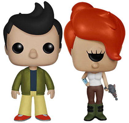 Funko Pop! Animation Fry & Leela (Alternate Universe)