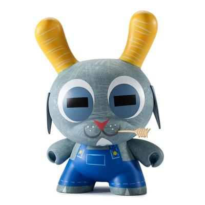 "Kid Robot 8"" Dunnys Buck Wethers (Blue)"