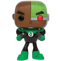 Cyborg as Green Lantern