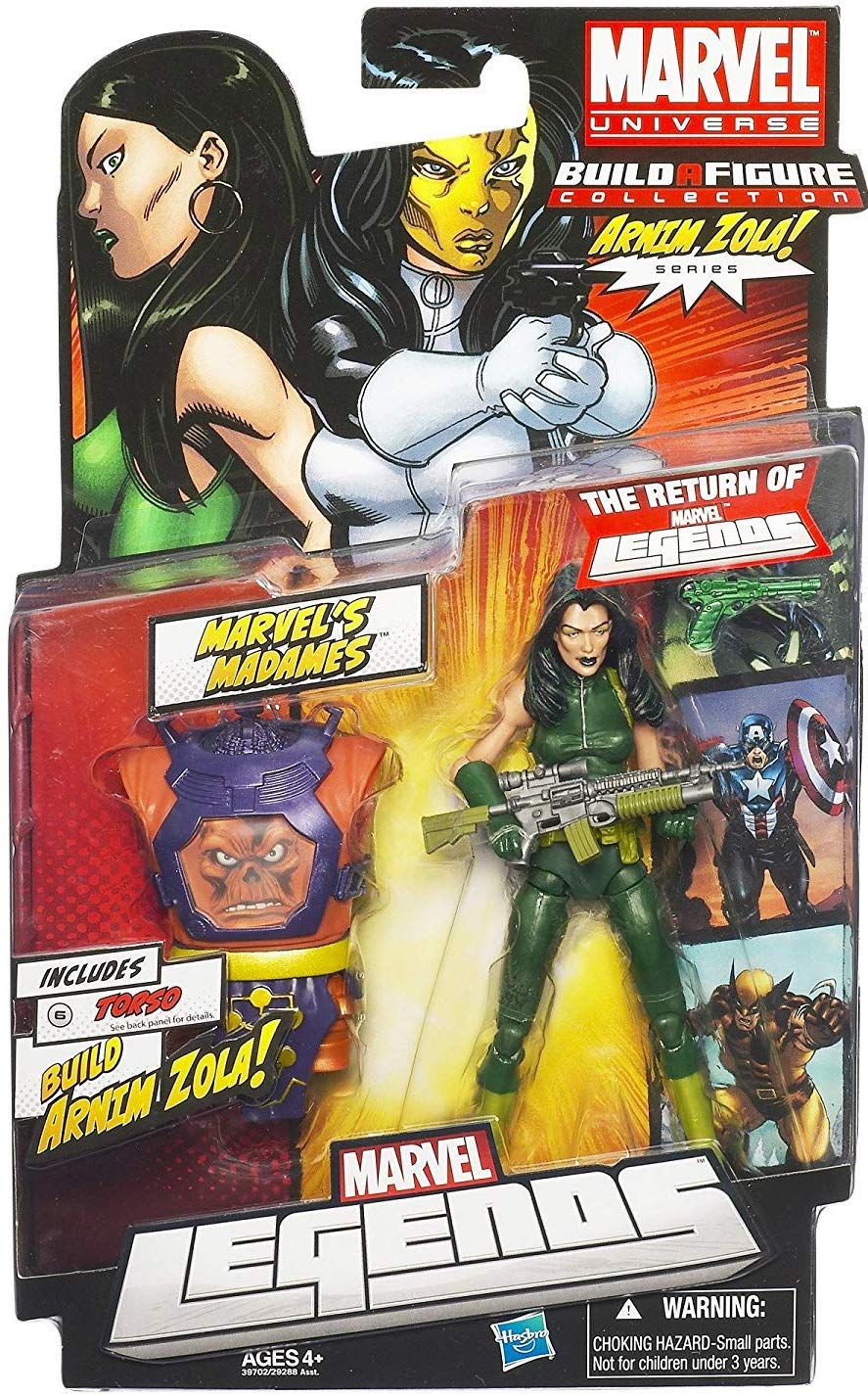 Marvel Legends Arnim Zola Series Madame Hydra (Torso Variant)